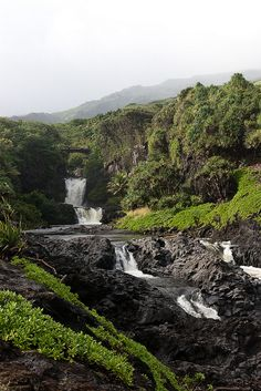 Been.Maui. I jumped off that first water fall you see.... 7 sacared pools, AMAZING PLACE!