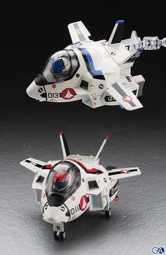 Macross VF-1 egg planes.