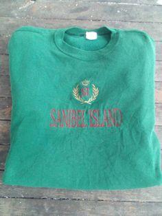 Items similar to Sanibel Island sweatshirt jumper vintage on Etsy