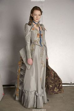 Secret of Moonacre ~ Maria's Blue Dress