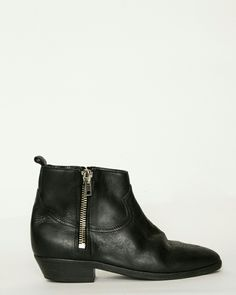 Black leather boots / Golden Goose Viand in black