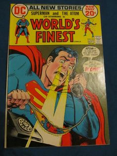WORLD'S FINEST #213 FN/VF(7.0) DC SUPERMAN BRONZE