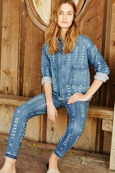 we've always had a thing for printed denim. click to shop our latest selection