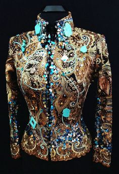 Copper Opulence ~ Jacket by Sweet Magnolia Designs