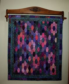 My Monet Water Lilly Quilt by Quiltsalad, via Flickr