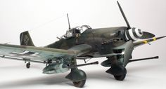Junkers Ju-87G2, Hasegawa 1/32 scale, by Chris Wauchop