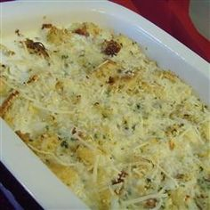 Crab Brunch Casserole... I've been making this recipe for years to give to others or to take to a potluck. Always a hit! Easy, too.