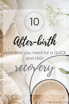 Us mamas spend so much time relishing our pregnancies and anticipating our baby's arrival (and rightfully so), that we often overlook our postpartum recovery preparedness. Wouldn't you rather daydream over those first moments when your newborn is placed on your chest, rather than having to decide on which size...