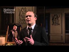 """""""Oh that this too, too solid [sullied] flesh. . ."""" -Rory Kinnear in Hamlet"""