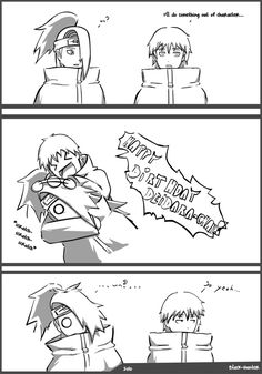 Wow Sasori.... |Pinned from PinTo for iPad| This is so cute!! <3 XD