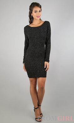 LONG SLEEVE LITTLE BLACK DRESS - Nasha Bendes