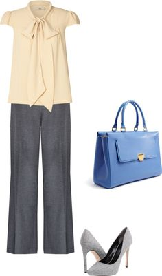 """Casual interview outfit"" by snagajob on Polyvore"