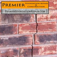 Brick splitting due to foundation issue