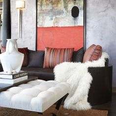 Brown Couch Design, Pictures, Remodel, Decor and Ideas - page 9