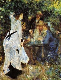 Galette, 1876, Pierre Auguste Renoir.