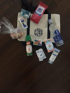 hotel welcome bags reunion goodie bags pinterest family