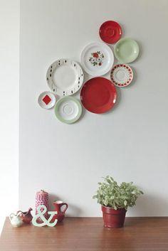Decorar las paredes con platos | Decorar tu casa es facilisimo.com