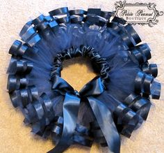 ROYAL tutu Double Satin Ribbon Edge Tutu 6 months by petitepeanut