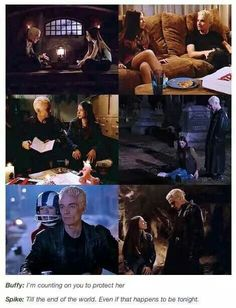 Spike LOVES Dawn (and Joyce) as family - but his love for them is spawned by falling in love with Buffy...
