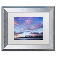 "Trademark Art Anywhere with You by Philippe Sainte-Laudy Framed Photographic Print Size: 11"" H x 14"" W x 0.5"" D, Frame Color: Brown"