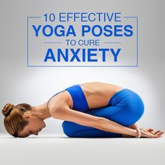 Yoga Poses : Anxiety – a precursor to stress! Indeed! Every moment of our life ... #Yoga #YogaPoses #Health