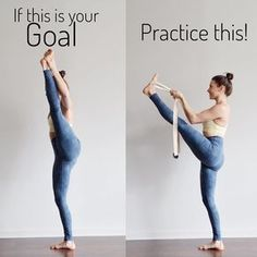 "2,878 Likes, 46 Comments - Yoga Instructor•Reiki•Thai YM (@alexzandrapeters) on Instagram: ""BOTH are Yoga. BOTH are beautiful ❤️ Practice and all is coming my friends! Using the strap in this…"""