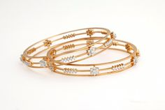 Indian Jewellery and Clothing: Beautiful diamond and gold bangles from NAC jewellers..