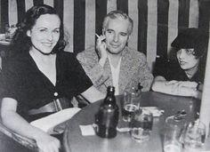 Paulette Goddard, Charlie Chaplin & Anita Loos