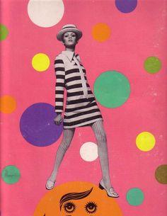 twiggy 1960s mod vintage fashion,