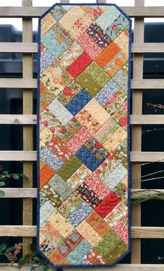 Fall Table Runner, Quilt Table Runners, Quilted Table Runner Patterns, Patchwork Table Runner, Quilted Table Toppers, Table Runner And Placemats, Jelly Roll Quilt Patterns, Barn Quilt Patterns, Quilting Patterns