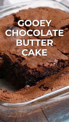 Chocolate Cake Mix Recipes, Chocolate Butter Cake, Brownie Recipes, Brownie Butter Cake Recipe, Simple Chocolate Cake, Chocolate Cake Recipe From Box, Best Butter Cake Recipe, Chocolate Cake Frosting, Chocolate Brownie Cake