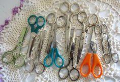 11 Children's Craft Scissors by fowlnfelines on Etsy