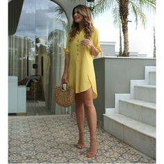Alarming Facts About Beautiful Casual Dress Ideas for Women Exposed Type of Beautiful Casual Dress Ideas for Women Dresses are a simpl. Beautiful Casual Dresses, Trendy Dresses, Simple Dresses, Summer Dresses, Kohls Dresses, Dresses Dresses, Party Dresses, Mode Outfits, Dress Outfits