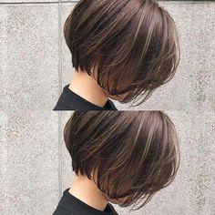 加納竜也 hair&make ボブ ショート ( Asian Bob Haircut, Short Bob Haircuts, Hairstyles Haircuts, Asian Short Hair, Short Hair Cuts, Androgynous Hair, Cabello Hair, Shot Hair Styles, Hair Arrange