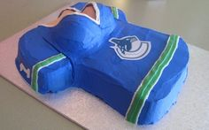 Hate the team, love the cake Canada Hockey, Cupcake Flavors, Vancouver Canucks, Hate, Female
