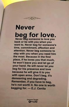 beg someone to stay with you, when you need him the most. Quotable Quotes, Wisdom Quotes, Book Quotes, True Quotes, Words Quotes, Motivational Quotes, Inspirational Quotes, Sayings, The Words