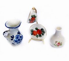 Vintage Ceramic Porcelain Figurines / Miniatures