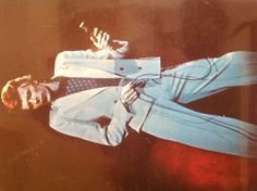 David Bowie Live album cover