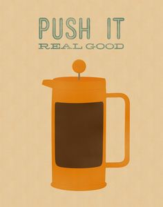 Push It Real Good Stretched Canvas