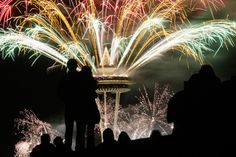 Seattle Fireworks - New Years Eve