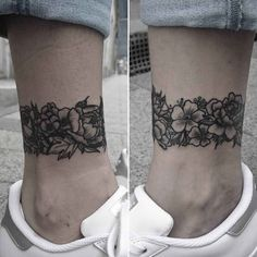 Ankle Band Tattoo by ftwalexandra