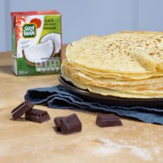 Recettes Anti-candida, Lactose Free Diet, Foie Gras, Crepes, Food Videos, Biscuits, Brunch, Yummy Food, Vegan