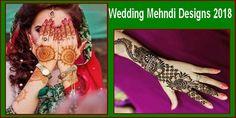 Wedding Mehndi Designs 2018 For Hands In Pakistan