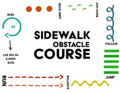This sidewalk obstacle course will not only keep kids active, but also will do a lot of good things to their brain, their memory and even sleeping habits.
