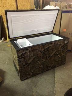 Camo freezer