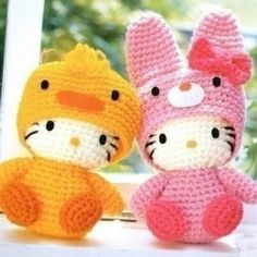 I have to find someone to crochet for me. Too cute!