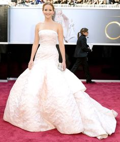 Jennifer Lawrence at the Oscar 2013