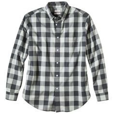 $18 sale / Merona® Men's Long Sleeve Everyday Gingham Button Down Work Shirts, Gingham, Work Wear, Flannel, Button Downs, Style Me, Bob, Men Casual, Plaid