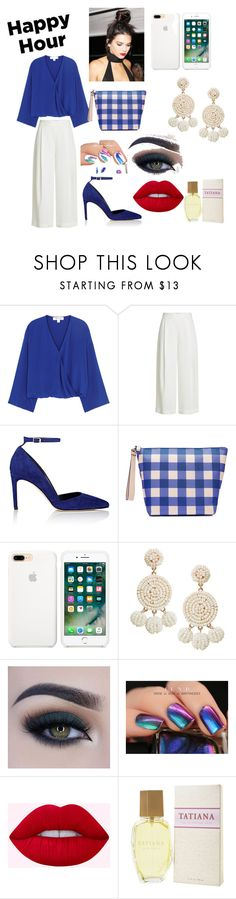 """""""Happy Diane Von Furstenberg Hour"""" by shanitalo ❤ liked on Polyvore featuring Diane Von Furstenberg, Humble Chic, Too Faced Cosmetics and Hush"""