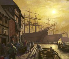 Merchant Quarters by ~SidharthChaturvedi on deviantART